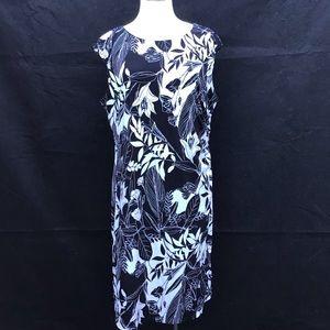 Connected Apparel Sleeveless Sheath Dress